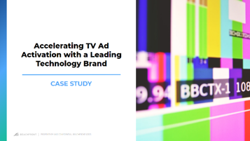 TV Ad Activation